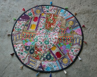 Attractive Round Table Cover, Mandala Runner Bohemian Tapestry, Hippie Home Decor,  Indian Tapestry Ethnic