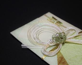 """35.Mizuhiki envelopes This envelope is used for each celebration. A special envelope called """"noshibukuro"""""""