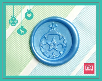 Christmas Ornament - 2 - Design OD Wax Seal Stamp (DODWS0413)