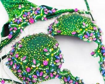 Green Couture Competition Bikini (DV020)
