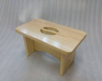 Bed Step Stool Wood Step Stool Wooden Foot Stool Beside Stool Waterproof stool