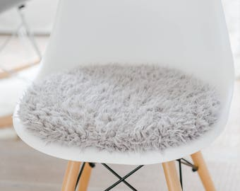 Cushion for Eames Chair in light grey, limited