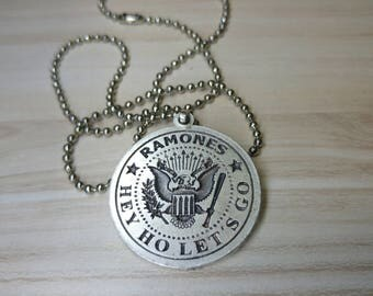 Ramones Necklace 925 Silver Plated