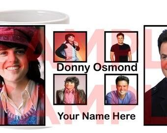 Personalised Donny Osmond Coffee Mug