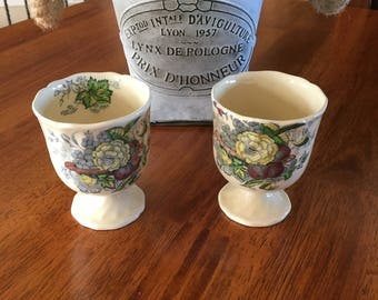 Vintage Royal Doulton  The Kirkwood Beautiful Two Mini Egg Cups