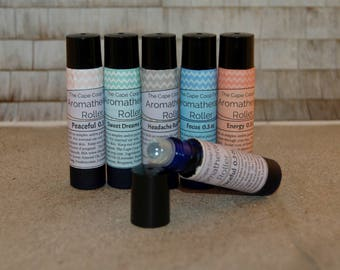 Aromatherapy Rollers, essential oils