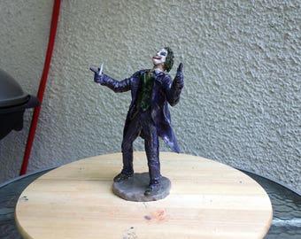 Batman: Joker 23cm x 15cm x 13cm. Handmade sculpting.
