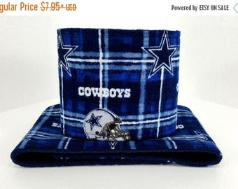 Male Dog Belly band - dog diaper - potty training aid - house breaking - incontinence wrap - male dog wrap - Made from Dallas Cowboys fabric