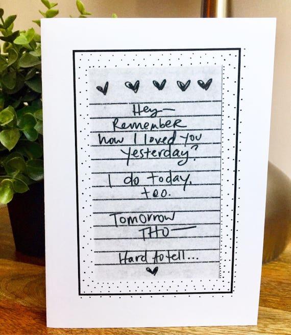 Funny Anniversary Card, One Year Anniversary Card for her, Paper Anniversary, anniversary Card for boyfriend 365 days, 1st wedding anniversa