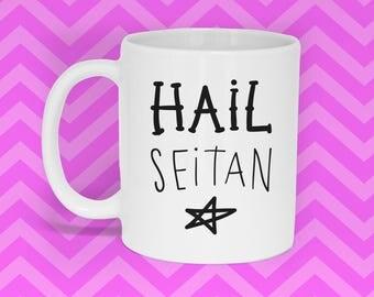 Hail Seitan Mug (With Gift Box)