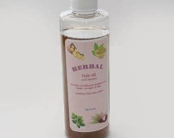 Herbal Hair oil with Ayurvedic herbs and coconut oil, herbal conditioners .Strengthens, rejuvenates hair. Excellent Father's Day Gift
