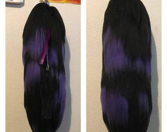 Purple And Black tail - SOLD