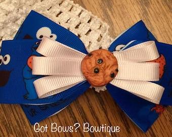 Cookie Monster Baby/Toddler Crochet Headband