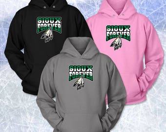 SIOUX FOREVER COLORBAND Logo Unisex Hoodie