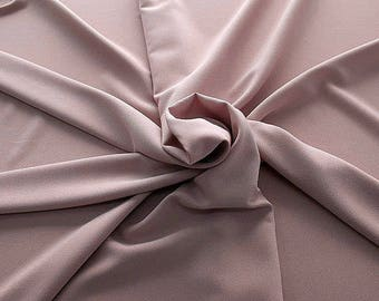 905040-Crepe 100% Polyester, width 150 cm, made in Italy, dry washing, weight 306 gr