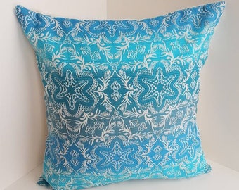 Wrap Scrap Throw Pillow Cover - Pillow Cover - Wrap Scrap - Moondani Australia - You Wish Starfish - Starfish - Beach - Ships Free!