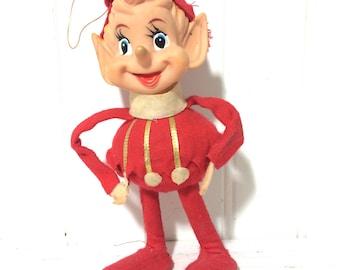 Vintage Standing Elf