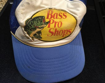Vintage Bass Pro Shops Trucker Cap Snapback