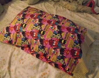 Handmade DC Super Hero Women Pillowcase (Full Size)