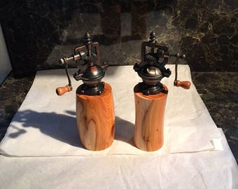WOW!! Our new Edition  Antique Style Salt &Pepper Mills