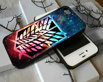 Attack on Titan Shingeki galaxy - for phone iphone 4 4s 5 5s 5c 6 6s 7 8 x samsung galaxy s3 s4 s5 s6 s7 edge s8 plus cover case cases