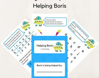 Educational printables , Helping Boris Worksheets Activities