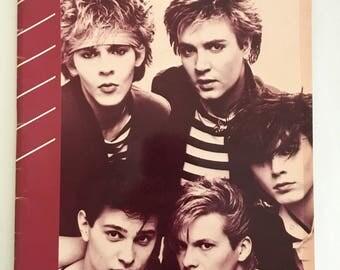 Vintage Duran Duran Rio LP Sheet Music