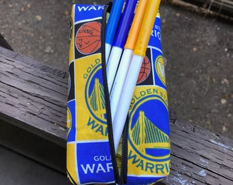 Golden State Warriors pencil pouch