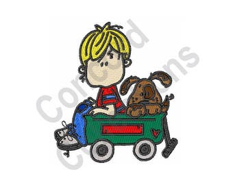 Wagon - Machine Embroidery Design