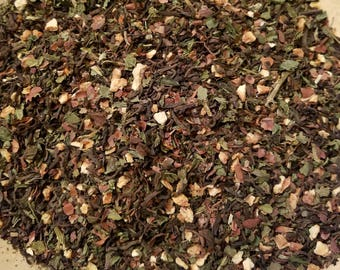 Earth - Element Herbal tea, Certified Organic, Vegan, Assam, Black Tea, Dandelion, Nettle, Cacao