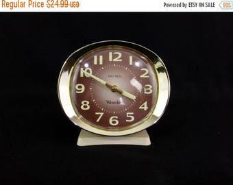 ON SALE Vintage 70s Westclox Big Ben Alarm Clock Glow In The Dark Working Wind Up