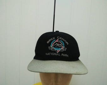 Rare Vintage BRYCE CANYON National Park Embroidered Cap Hat Free size fit