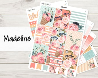 Madeline Weekly Kit | Planner Stickers
