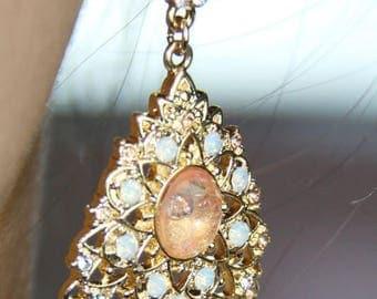 Vintage Crystals Drop Earrings - WOW