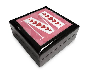 Monogram Initial Inspired 6x6 Memory Box