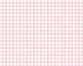 Bake Sale 2 PINK Gingham Yardage by Lori Holt of Bee in My Bonnet for Riley Blake Designs #C6988 100% Cotton