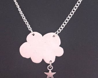 Necklace cloud with little star