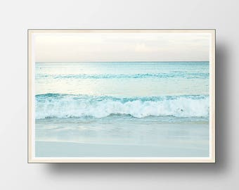 Ocean Print, Ocean Wall Art, Beach Wall Art, Beach Decor, Ocean Decor, Beach Photography, Coastal Decor, Beach Art, Ocean Wall Art, Ocean
