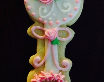 Baby Girl Rattle Cookies