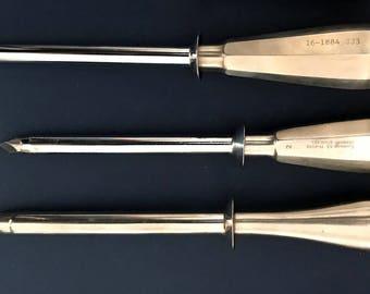 Surgical Instrument:  Trocar   Veterinary Instrument   Vintage Medical Instrument