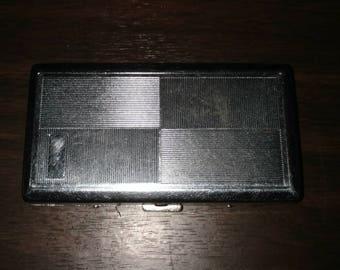 1950s Vintage Silver cigarette case
