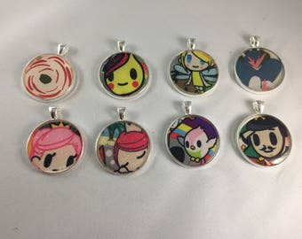 Tokidoki Pendants Ju-ju-be Fairytella Rosy Posy