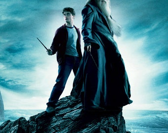 FREE SHIPPING til Christmas! Harry Potter and the Half Blood Prince movie poster 11x17