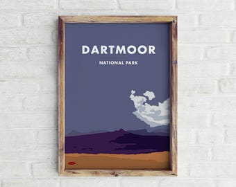 Dartmoor Travel print