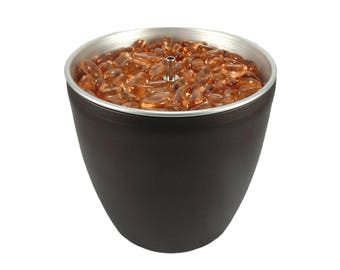 Water Feature Indoor Tabletop C brown