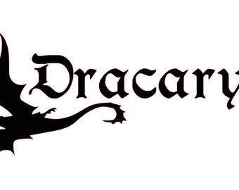 Game of Thrones - Dracarys - Game of Thrones Decal - Dracarys Decal - Laptop Decal - Mac Book Decal
