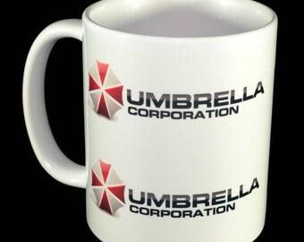 Mug - Umbrella Corporation Mug - Fictional Company Gaming Mug