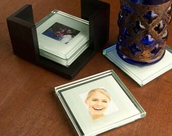 A Fun Photo Coaster Gift Set