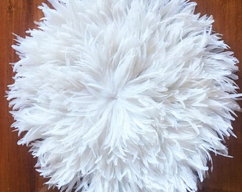 Juju Hat Style Wall Hanging - 1m Diameter - White **PRE-ORDER**