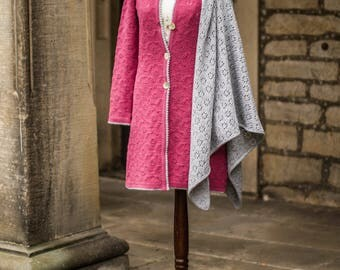 Women's sweater coat, jackets, hand work
